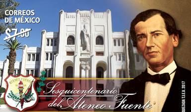 En Coahuila se realiza cancelación de estampilla postal por el sesquicentenario del Ateneo Fuente