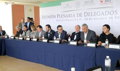 El Secretario de Economía realizó Gira de Trabajo en San Luis Potosí