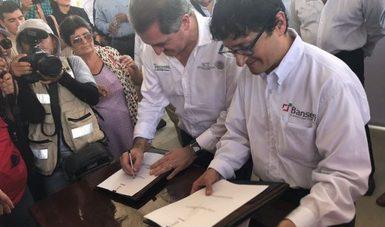 Telecomm-Bansefi firman corresponsalía bancaria