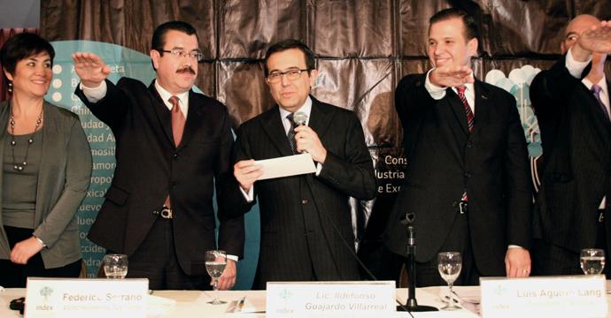 El Secretario de Economía tomó protesta a la mesa directiva del INDEX