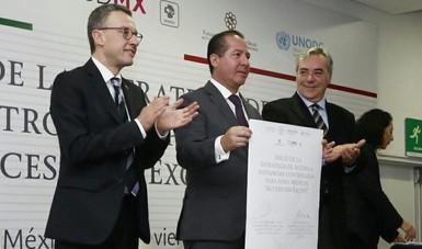 COFEPRIS y la  UNODC firman acuerdo para impulsar cuidados paliativos