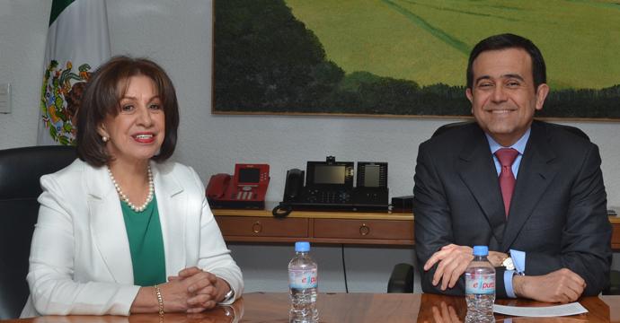 Rocío Ruiz Chávez, Subsecretaria de Competitividad y Normatividad de la Secretaría de Economía