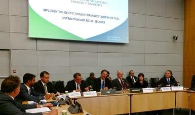 ASEA presenta en OCDE modelo de inspección.