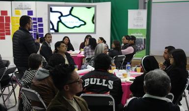 Por espacio de dos días, los actores sociales compartirán las experiencias derivadas de los proyectos que realizan este año con recursos del Programa de Coinversión Social (PCS)