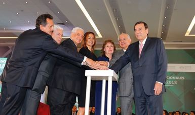El Vocal Ejecutivo, el secretario general del ISSSTE y representantes sindicales dieron el click de inicio para el Sistema de Puntaje.