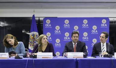 Asume México presidencia de la Comisión Interamericana de Desarrollo Social de la Organización de los Estados Americanos