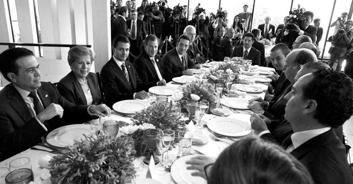 Gira del Presidente por Santiago de Chile