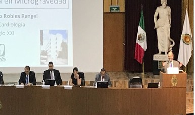 continúa AEM el impulso de la medicina espacial en México