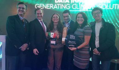 INECC recibe premio D4CA en la COP23