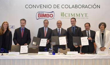 Acuerdo entre productores de maíz y la empresa Bimbo.