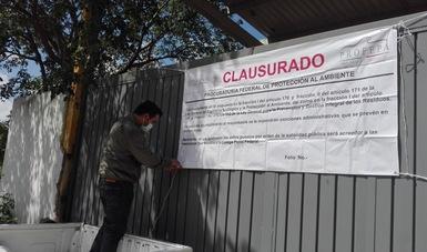 IMPONE PROFEPA MULTA POR CASI 1.3 MDP Y CLAUSURA DE MANERA DEFINITIVA A MEDAM S. DE R.L. de C.V., POR MAL MANEJO DE RPBI