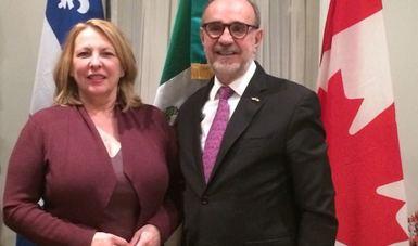 Subsecretario para América del Norte, Carlos Sada, realiza visita de trabajo a Montreal y Ottawa, Canadá