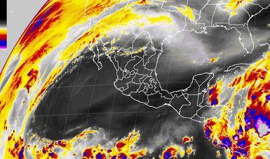Se prevé viento del norte con rachas superiores a 60 km/h en el Istmo y el Golfo de Tehuantepec.