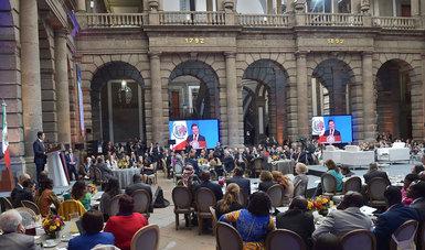 El Primer Mandatario encabezó la inauguración de la Cumbre Mundial de Líderes Contra el Cáncer 2017.