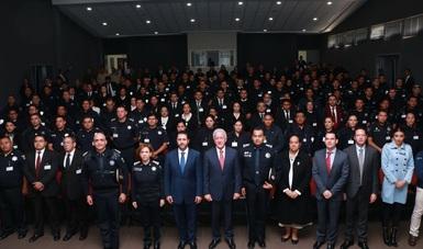 La CONANP capacita a 7 divisiones de la Policía Federal para la conservación de las Áreas Naturales Protegidas (ANP)