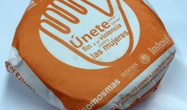 """Lanzan campaña contra la violencia con mensajes en """"Papel Tortilla"""""""