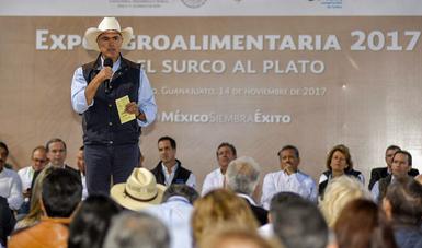 El sector agroalimentario es vital y estratégico para la economía nacional: JCR