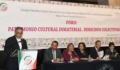 Arranca el Foro: Patrimonio Cultural Inmaterial. Derechos Colectivos
