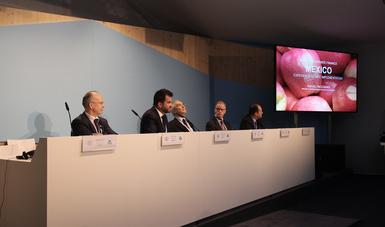 El titular de la SEMARNAT compartió las experiencia de México en el diseño de sus contribuciones para la mitigación de GEI.
