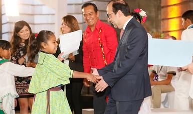 Atención a la educación indígena es prioridad en el Nuevo Modelo Educativo: Treviño Cantú