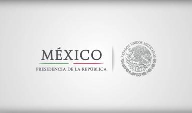 Imagen institucional de Presidencia de la República