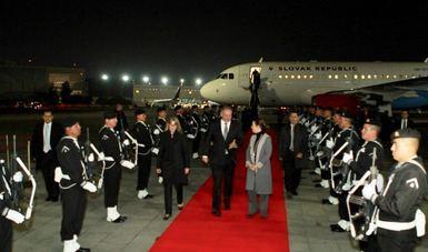 Slovak President Andrej Kiska on State Visit to Mexico