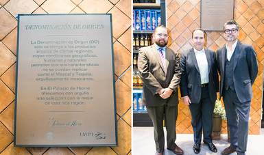 El IMPI y El Palacio de Hierro reconocen a Denominaciones de Origen mexicanas