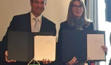 ProMéxico firma convenio con Eslovaquia para incrementar relación comercial