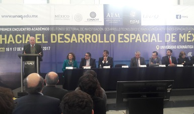 Fondo Sectorial conjunto AEM-CONACYT, apoyando proyectos espaciales para el país
