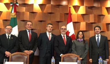 Se celebra la 13° Reunión Anual de la Alianza México-Canadá en la Secretaría de Relaciones Exteriores
