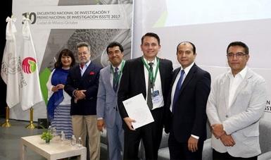 Ganan Premio Nacional de Investigación ISSSTE 2017 profesionales de la salud