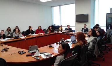 Se llevó a cabo la Sesión del Grupo de Trabajo de Medio Ambiente en la que participaron la Secretaría de Medio Ambiente y Recursos Naturales y el Ministerio de Medio Ambiente y Cambio Climático de Canadá.