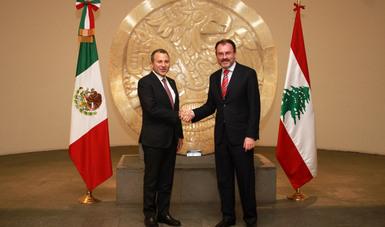 México estrecha lazos con la República Libanesa