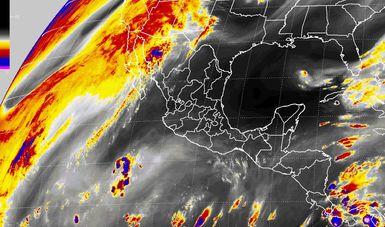 Se prevé viento del norte con rachas mayores a 60 km/h en el Istmo y el Golfo de Tehuantepec.