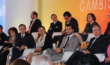Inauguración del Segundo Encuentro de Respuestas al Cambio Climático en la Biblioteca de México