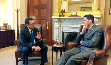 Concluye visita de trabajo del Secretario de Economía a Washington, D.C., con reuniones con legisladores de ambas Cámaras y Partidos