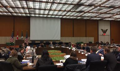 México, Estados Unidos y Canadá celebraron la Cuarta Reunión Trilateral sobre Trata de Personas
