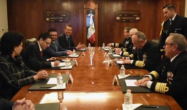 La Secretaría de Marina y La Comisión Nacional de Hidrocarburos firman Convenio General de Colaboración