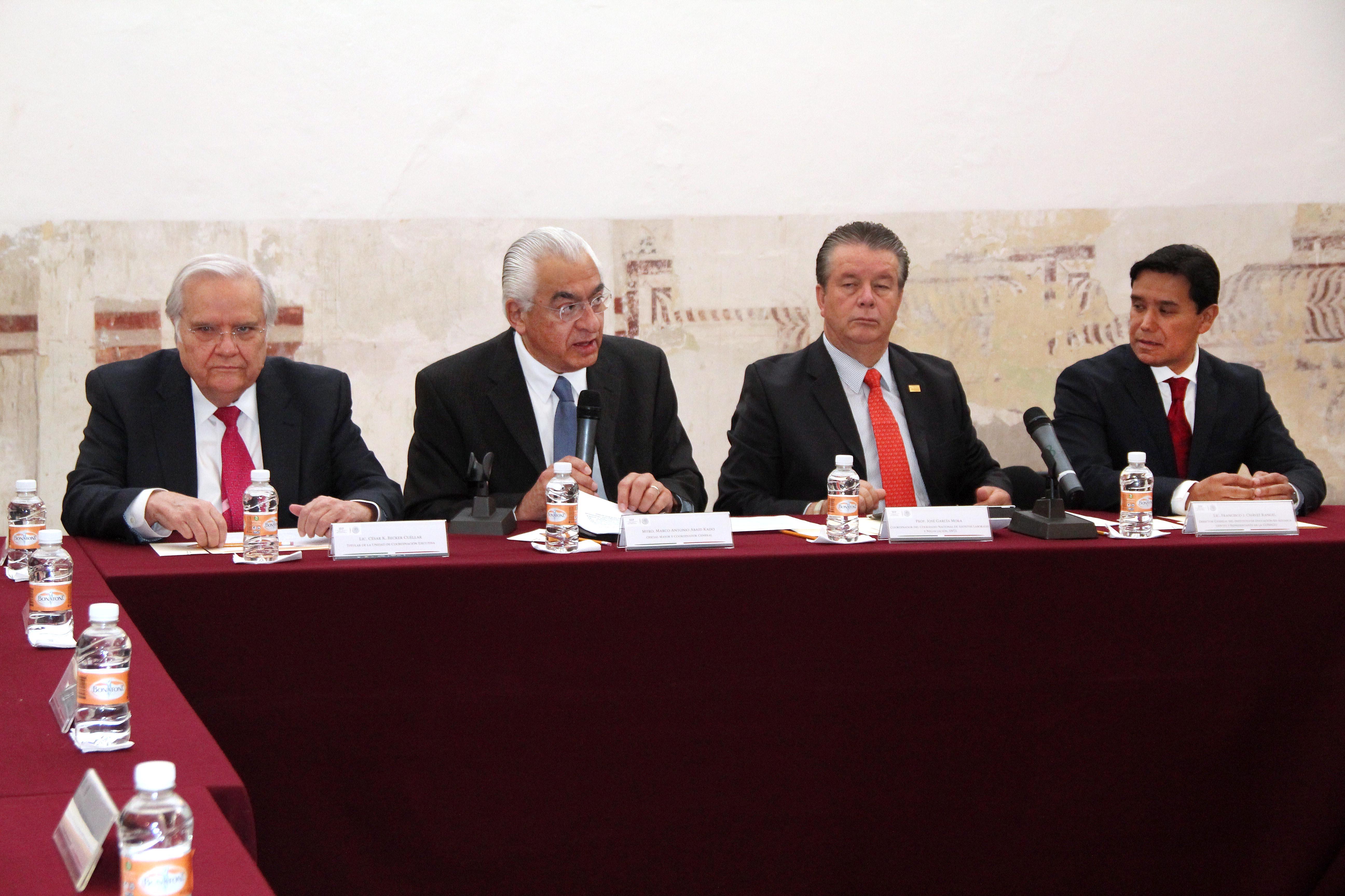 Instalación de la Comisión Negociadora SEP-SNTE