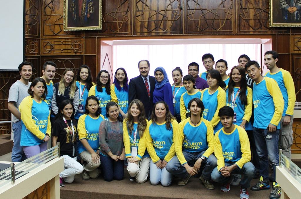 Estudiantes mexicanos participan en programa de movilidad de la Universidad Nacional de Malasia