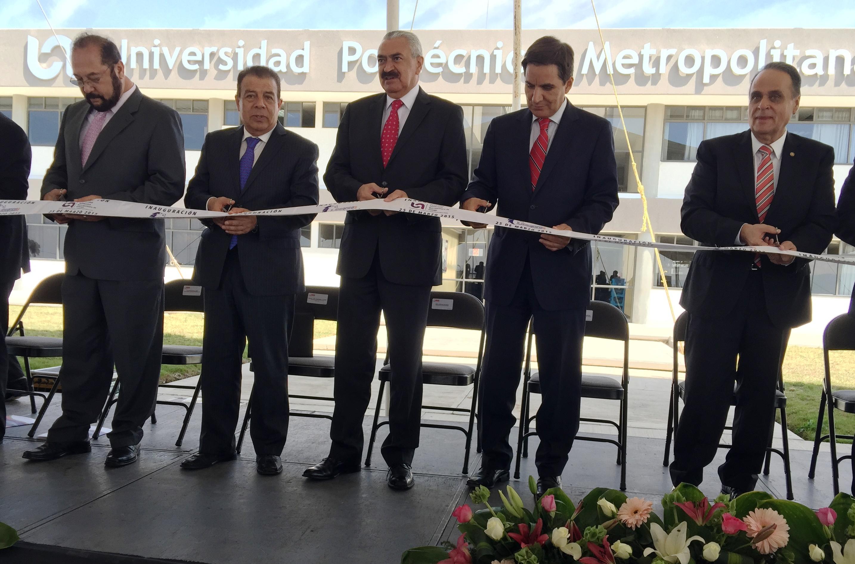 El subsecretario de Educación Superior entregó las instalaciones de la Universidad Politécnica Metropolitana del Estado de Hidalgo