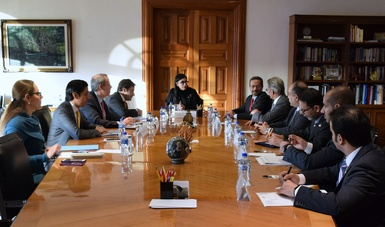 La subsecretaria de Hacienda, Vanessa Rubio Márquez, se reunió con el viceministro de Finanzas de Kuwait