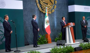 El Primer Mandatario aceptó la renuncia de Aurelio Nuño Mayer como titular de esa dependencia.