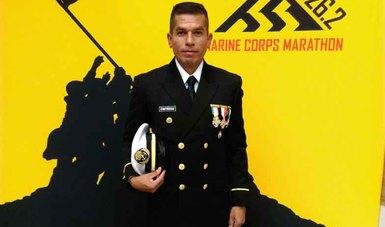 """Destacada participación de atletas navales en la  """"42 Edición del  Marine Corps Marathon 2017"""", en Washington, DC. EE. UU."""