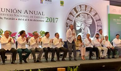 39ª Reunión Anual del Servicio Nacional de Empleo en Mérida, Yucatán