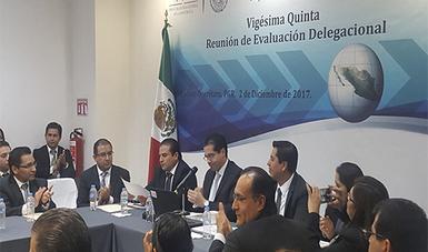 Realiza PGR la Vigésima Quinta Reunión Delegacional en Querétaro