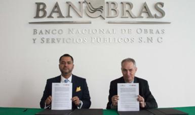 Banobras y ProMéxico firmaron un acuerdo de colaboración para impulsar y promover oportunidades de inversión en proyectos de infraestructura y energía para inversionistas, desarrolladores y bancos, tanto nacionales como extranjeros
