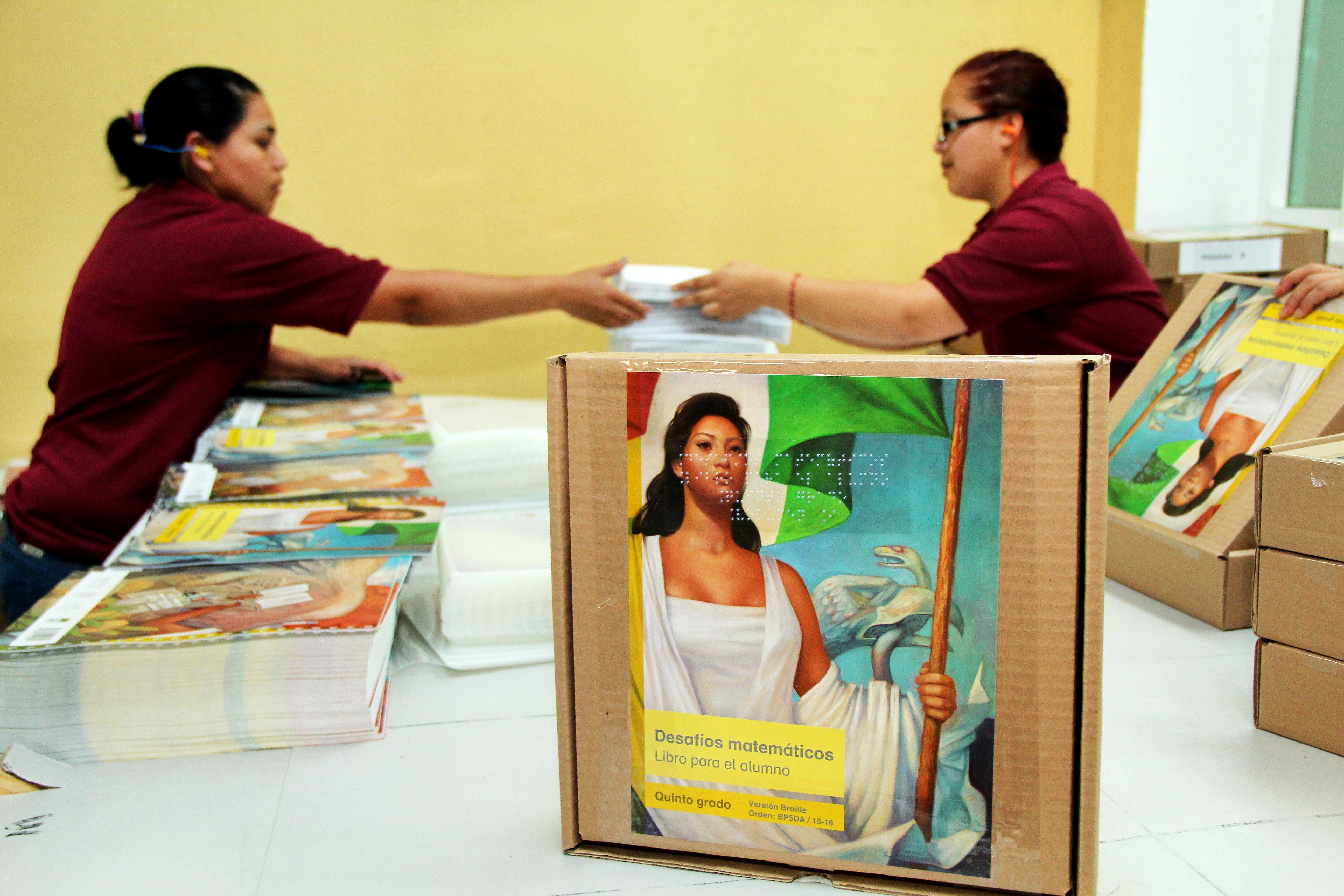 México y Alemania son los únicos países que editan libros de texto gratuito en sistema Braille