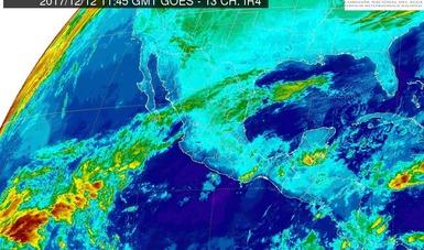 En las próximas horas se prevé el ingreso del Frente Frío Número 15 al noreste de México.