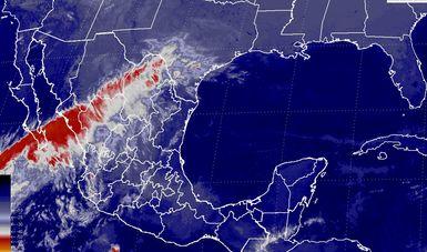 Temperaturas menores a -5 grados Celsius se estiman hoy en Chihuahua, Durango y Zacatecas.